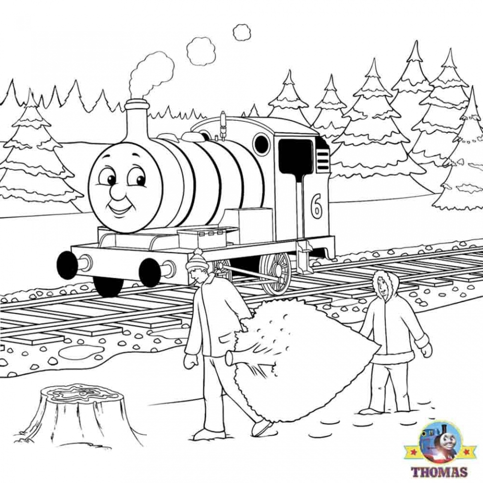 Thomas the Tank Engine Coloring Pages Free   700417
