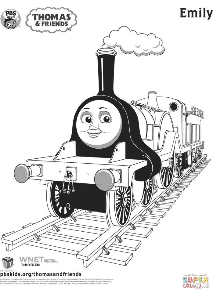 Thomas the TRain Coloring Pages Free   14289