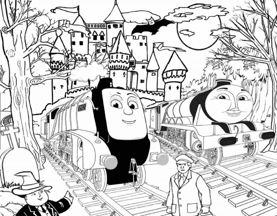 Thomas the Train Coloring Pages Printable   40414