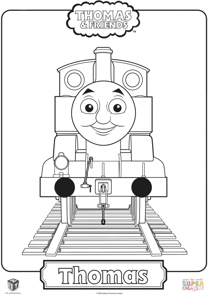 Thomas the Train Coloring Pages to Print   63128