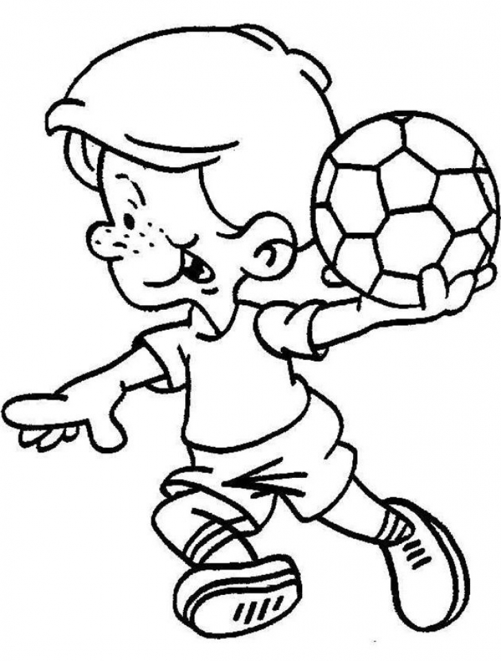 Toddler Coloring Pages Easy Printable   50381