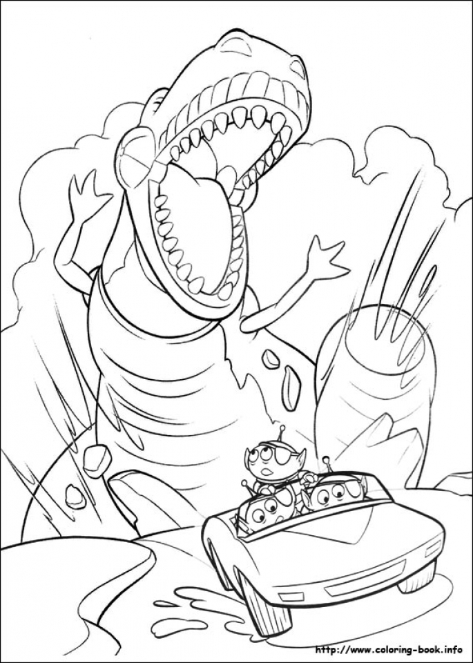 Toy Story Coloring Pages Free   05803