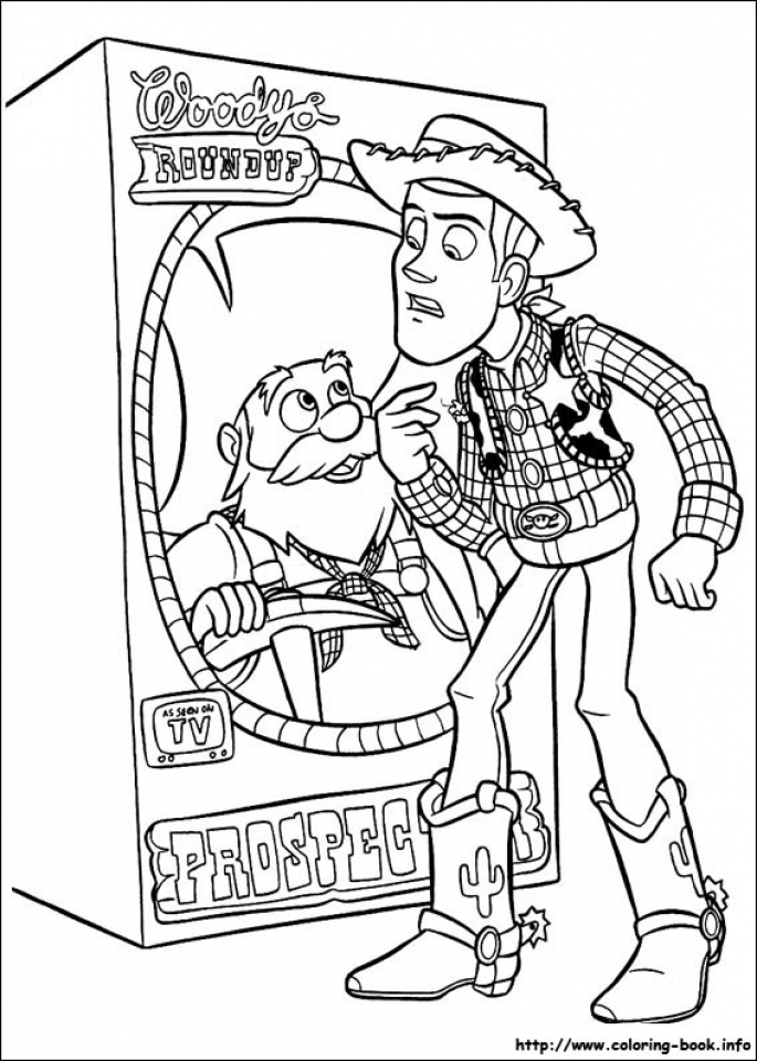 Toy Story Coloring Pages to Print Out   05705