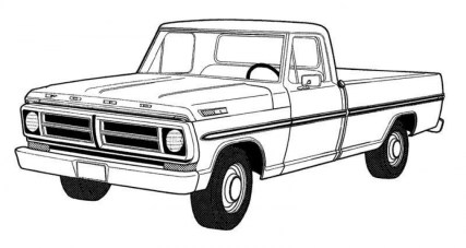 Truck Coloring Pages Kids Printable 16558