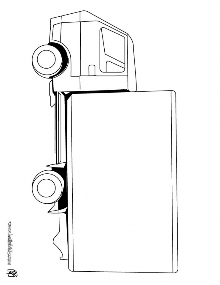 Truck Coloring Pages Online   67586