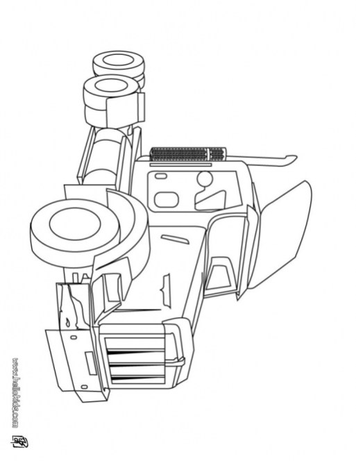 Truck Coloring Pages Printable 42246