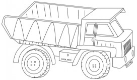 Truck Coloring Pages to Print 44215