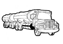 Truck Coloring Pages to Print Online 596783