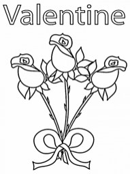Valentines Online Coloring Pages to Print Out 52601