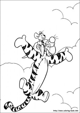 Winnie the Pooh Coloring Pages to Print for Kids 69071