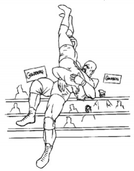 WWE Coloring Pages Free Printable 40784