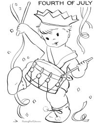 4th of July Coloring Pages for Toddlers - 6cve1