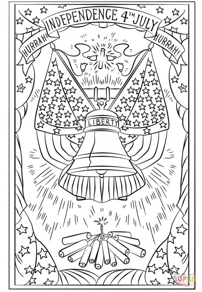 Get This 4th of July Coloring Pages for Adults uv5bx