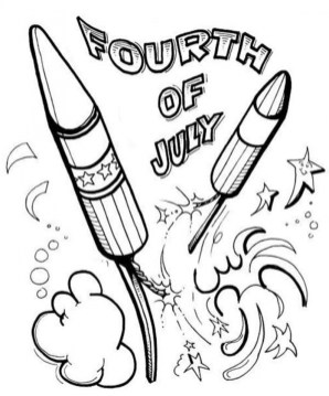 4th of July Coloring Pages Free to Print 4zv21