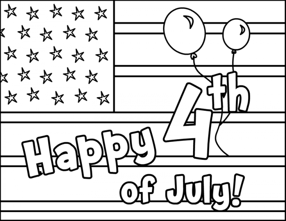 20+ Free Printable 4th Of July Coloring Pages - EverFreeColoring.com