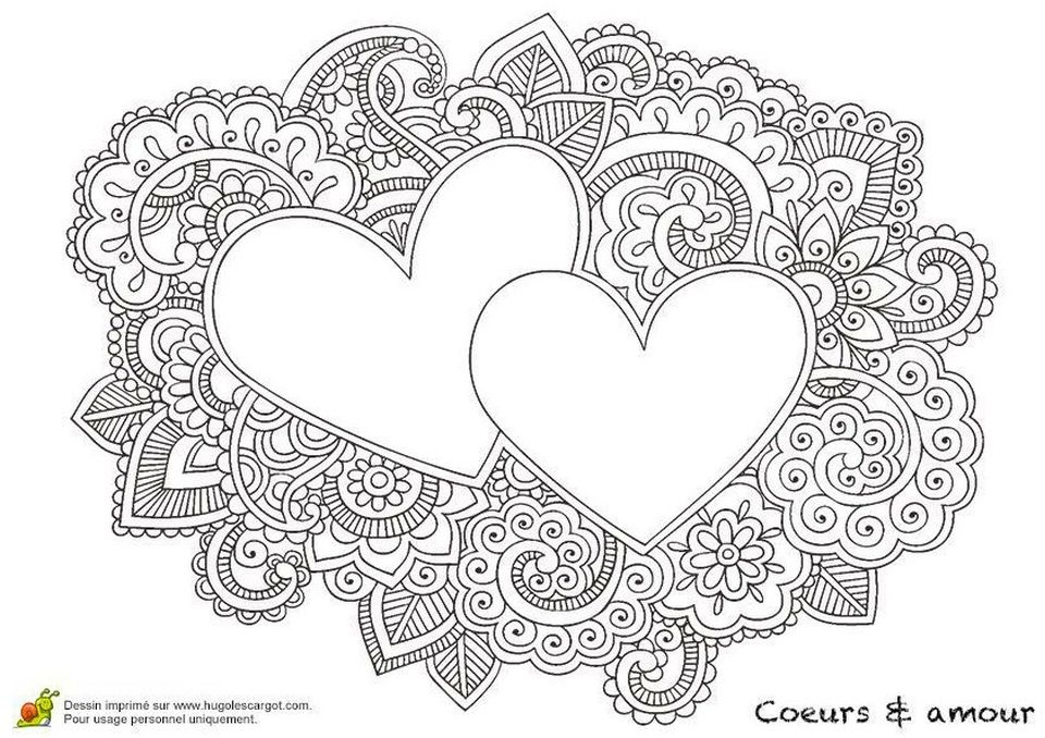 20+ Free Printable Love Coloring Pages For Adults - EverFreeColoring.com