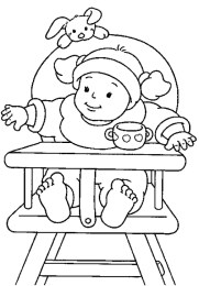 Baby Coloring Pages Online - 931l3