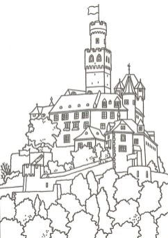 Castle Coloring Pages Printable - 2bs81