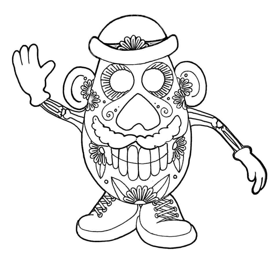 - 20+ Free Printable Day Of The Dead Coloring Pages - EverFreeColoring.com