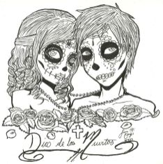 Day of the Dead Coloring Pages Online Printable - 85194