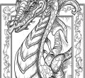 Desktop dragon coloring page for adults of iphone full hd pics get this adults printable ywx