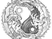 Photos Dragon Coloring Page For Adults Of Adults Desktop Hd Pics Get This Printable Wycn