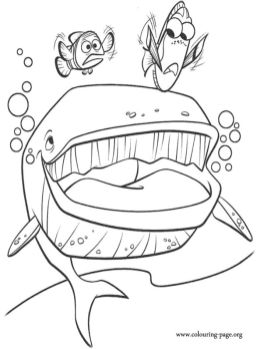 Finding Nemo Coloring Pages to Print - 4tf57