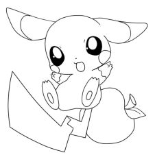 Pikachu Coloring Pages Printable - 78sf4