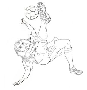 Soccer Coloring Pages Kids Printable - 84021