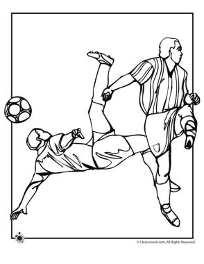 Soccer Coloring Pages Kids Printable - hfl3m