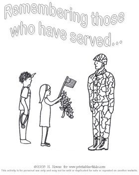 Veteran's Day Coloring Pages for Preschool - v6jf9