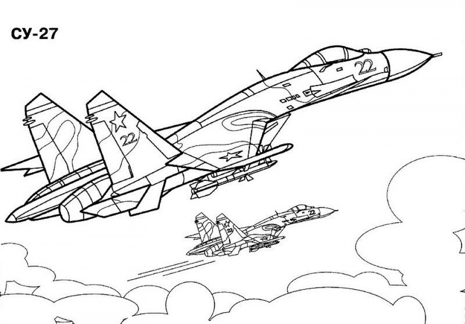 Free Printable Airplane Coloring Pages For Kids | 668x960