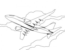 Airplane Coloring Pages Free Printable 94512