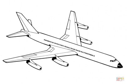Airplane Coloring Pages Printable 6cv31