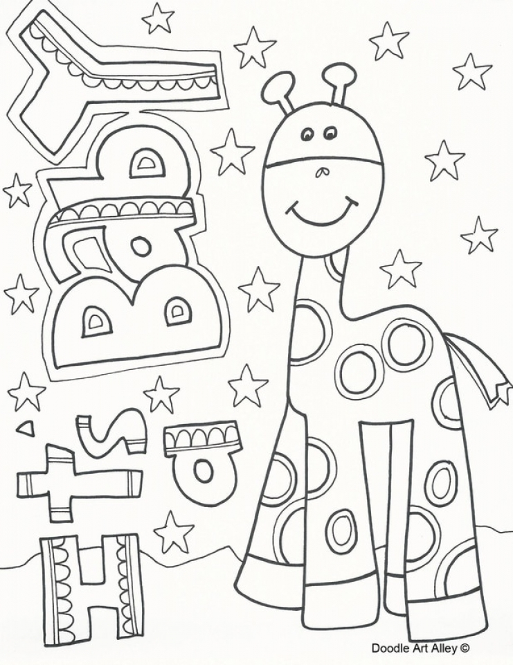 Get This Abstract Coloring Pages for Adults 26570
