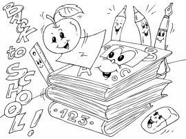 Back to School Coloring Pages for Kindergarten 6sfw8