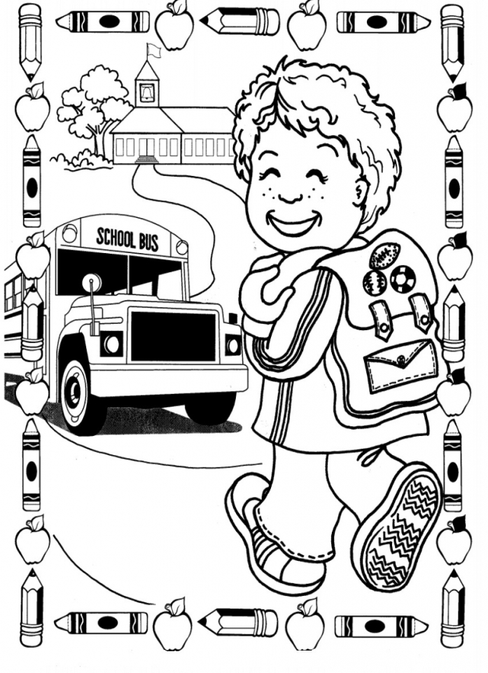 Get This Back to School Coloring Pages Free to Print 61ab5