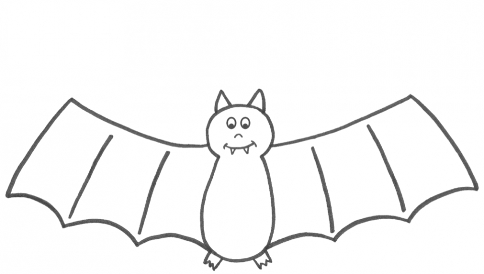 Bat Coloring Pages Printable   96712