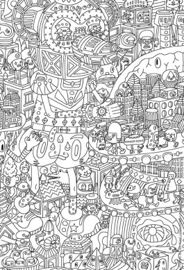 Cool Abstract Design Coloring Pages bvg4n