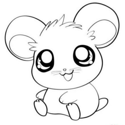 Cute Baby Animal Coloring Pages to Print ga53b