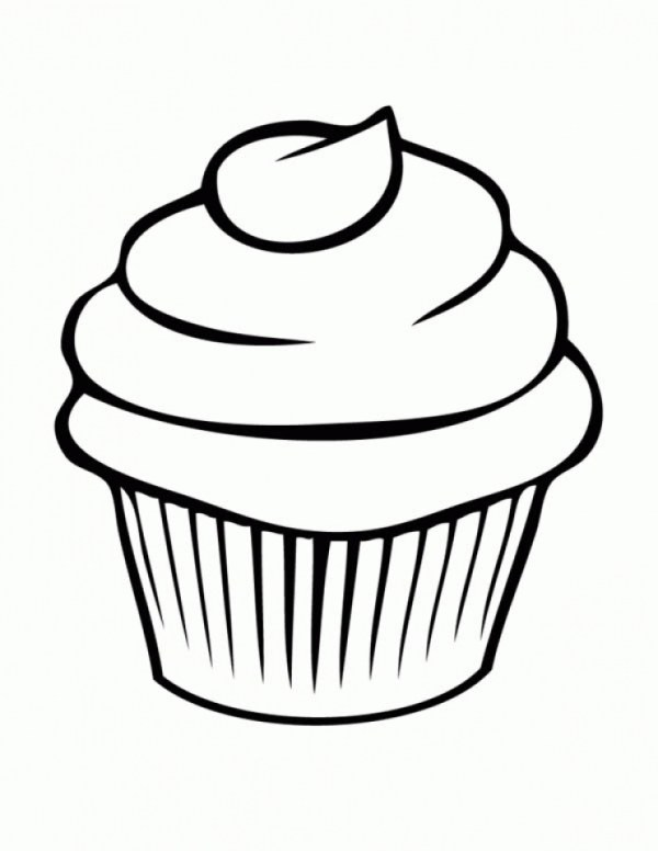 20+ Cute Cupcake Coloring Pages 2017 Ideas and Designs