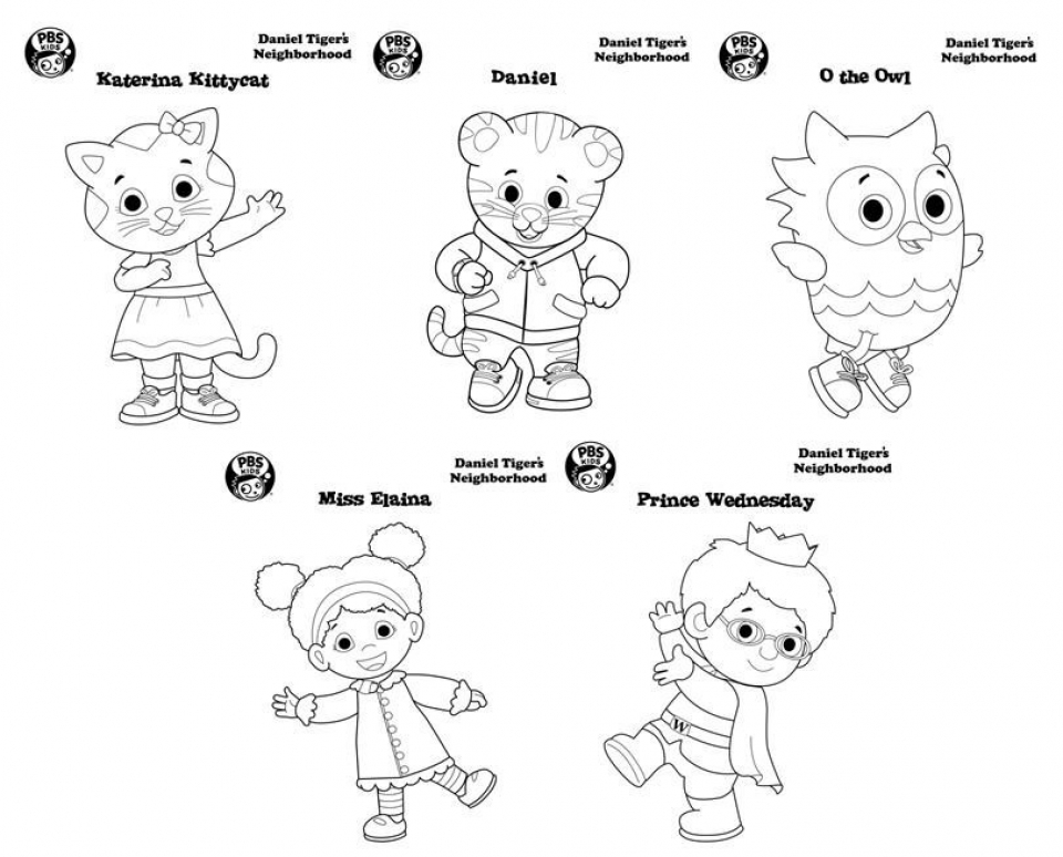 Daniel Tiger Coloring Pages to Print   6df21