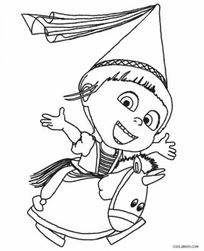 Despicable Me Coloring Pages for Kids 09461