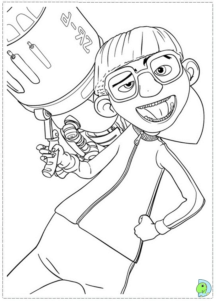 Despicable Me Coloring Pages Free for Toddlers   6dg34