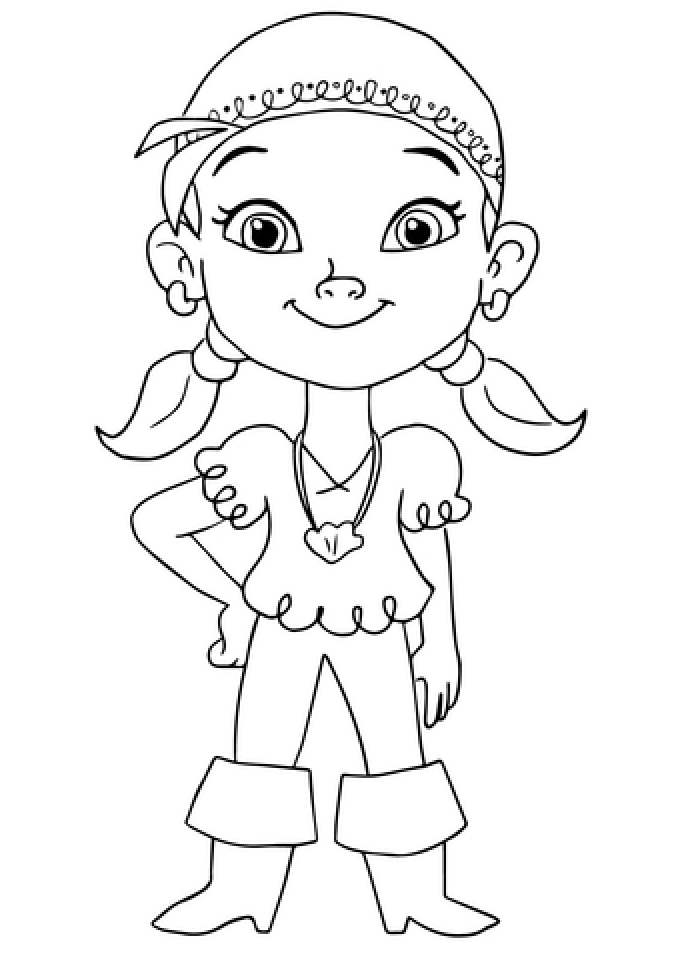Get This Disney Jake and The Neverland Pirates Coloring