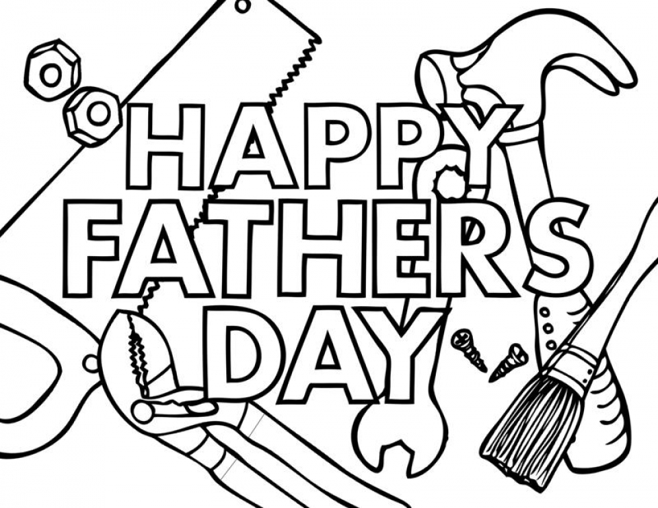 Get This Father's Day Coloring Pages Free Printable ayem2