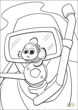 Finding Nemo Coloring Pages for Kids bc641