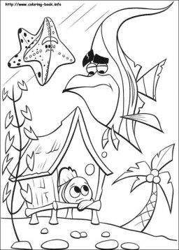 Finding Nemo Coloring Pages Online 2658z