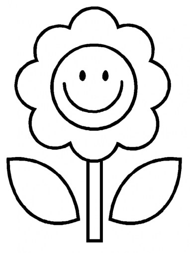 Flowers Coloring Pages 3189