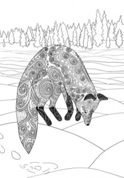 Fox Coloring Pages for Adults Printable 9ch4n